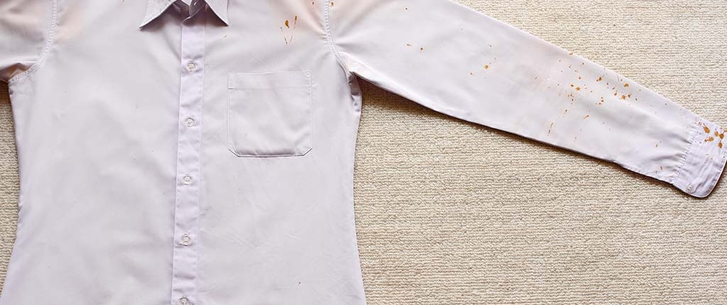 Limpiar manchas de oxido