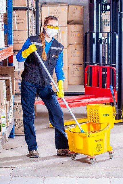 Productos de Limpieza en industrias