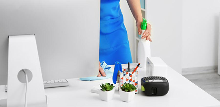 Hacer una limpieza de oficinas profesional